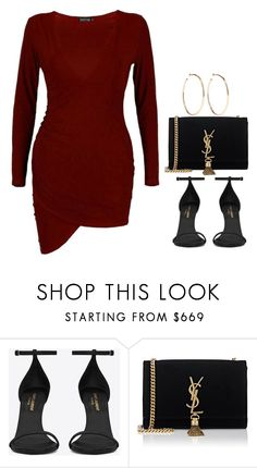 """#Style"" by rosana-storyofmylife ❤ liked on Polyvore featuring Yves Saint Laurent and Jennifer Fisher"