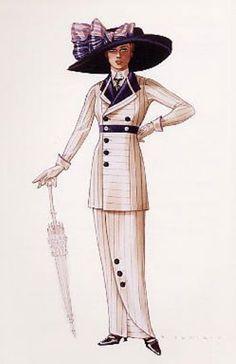 Edwardian style by Deborah Scott.
