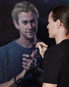 El actor australiano Chris Hemsworth ha colaborado con Joel Rea en una sesión de fotos y un retrato