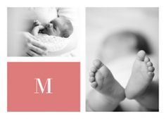 Large Letter - Birth Announcements