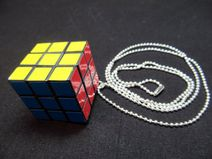 Cube Collar Retro Cubos de Rubik de negocios ...