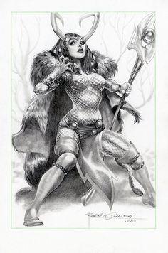 Lady Loki by Rags Morales