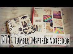 Back2School: DIY Tumblr Inspired Notebook.