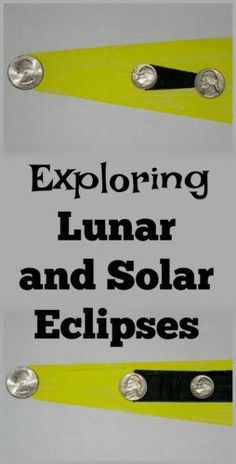 For Astronomy! Exploring Lunar and Solar Eclipses