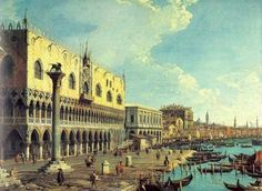 Canaletto Venice Doges Palace