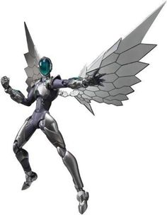 figuarts Accel World Silver Crow Action Figure Bandai Tamashii Nations Japan for sale online Sprites, Character Inspiration, Character Design, Accel World, Sci Fi Armor, Anime Figurines, Silver Wings, Angel Of Death, Video Game Characters