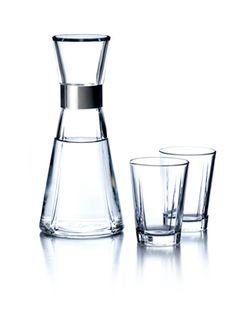 Rosendahl water bottle & glasses