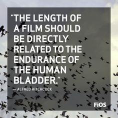 The Master of Suspense, Alfred Hitchcock Quote