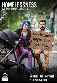 Homeless Persons' Week (HPW) is an annual themed week coordinated by Homelessness Australia.  It is used to raise awareness of people experiencing homelessness and the surrounding issues in Australia. It is held in the first full week of August each year.