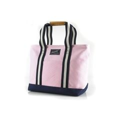 Canvas / PU Tote en Rose