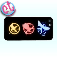 Hunger Games Case  iPhone 5 Samsung Galaxy 4 Cell by CasesandTees, $11.99