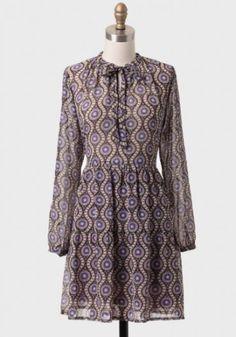 Five Graces Printed Dress