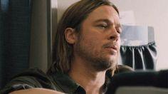 World War Z Serious Brad Pitt - See best of PHOTOS of the WORLD WAR Z film