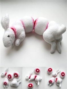 Toy stuffed animal rabbit