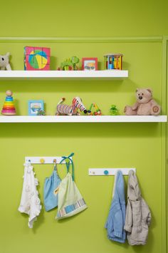 Toddlers room decor and shelving.  Courtesy of Mood Event Decoration