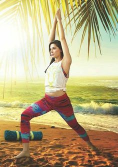 """""""Yoga takes you into the present moment, the only place where life exists."""" #fitnessfridays #fitness #yoga #present #moments #ILoveYouMyBeautifalMom Nargis Fakhri Photograph NARGIS FAKHRI PHOTOGRAPH   IN.PINTEREST.COM BLOG #EDUCRATSWEB"""