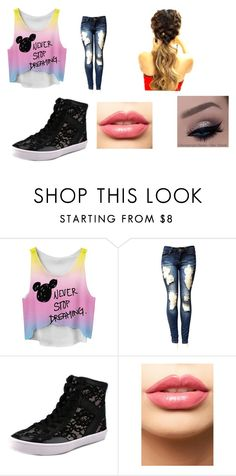 """""""Never stop dreaming"""" by kystewart ❤ liked on Polyvore featuring Rebecca Minkoff and LASplash"""