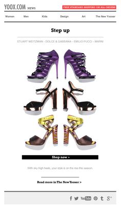 Shoes Email Design