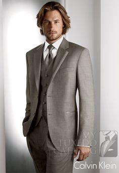 Grey 'Legend' Tuxedo by Calvin Klein