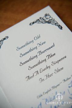 Something Old, Something New, Something Borrowed, Something Blue!