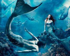 The Little Mermaid- Julianne Moore and Michael Phelps