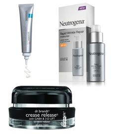 """1. This cream is a wrinkle treatment and a daily moisturizer. It contains retinol (a vitamin A derivative that stimulates collagen and elastin production), plus hyaluronic acid to hydrate skin and SPF 30 to protect against UV rays. Neutrogena Rapid Wrinkle Repair Moisturizer SPF 30, $21.99; at drugstores. 2. Also packed with retinol, this lotion combines it with a """"booster complex"""" that enhances its effectiveness and reduces irritation. La Roche—Posay Redermic [R] Anti-Aging Dermatological…"""