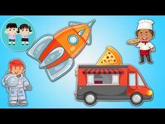 Haideti sa Invatam Meseriile - ghiceste silueta | Copilasi Dragalasi - YouTube Pikachu, Family Guy, Guys, Youtube, Fictional Characters, Art, Kunst, Sons, Fantasy Characters