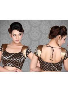 Black Saree Blouse