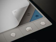 Qiwy IOS app curl test: by Mikael Eidenberg  #UI