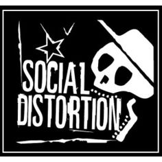 Social Distortion - skeleton + star