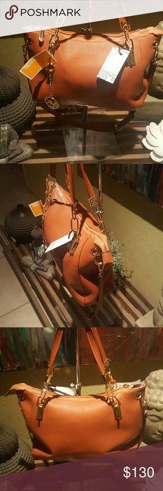 Micheal Kors handbag Nwt rust colored ladies hanbag Micheal Kors  Bags Shoulder Bags