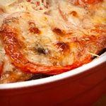 Atkins Tomato-Mozzarella Melt.