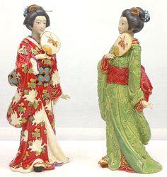 ✿Figurine✿ Geisha figurines