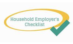 Household Employer's Checklist Video | NannyPay