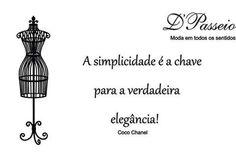 Coco Chanel sempre tem atual!