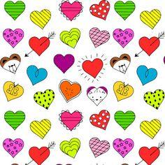 Free digital heart scrapbooking paper - nursery printable - ausdruckbar - freebie | MeinLilaPark
