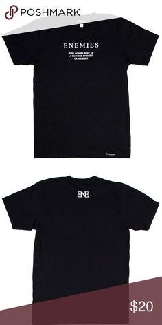 64aa47a86 ENEMIES Brand Judge T-Shirt Black Tee Shirt Style  Unisex Short Sleeve T-
