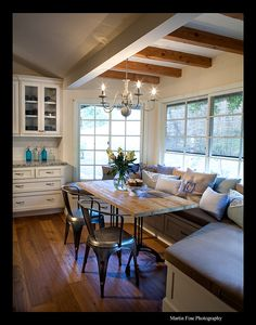 Breakfast Nook, Sunrooms, Kitchen Cabinets, Remodeling, Sunshine, Field  House Part 77