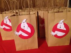 Ghostbusters goody bags More