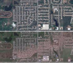Google releases before/after satellite photos of Oklahoma Tornado. Google has been recently finding new and interesting ways to present the enormous quantity of data they have in Google Earth, including long-term satellite images of the growth and evolution of cities and landscapes.