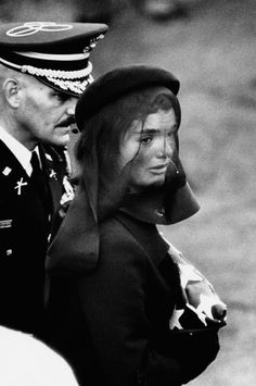 President Kennedy's Funeral photos | Jacqueline Kennedy at President John F. Kennedy's funeral- November 25 ...