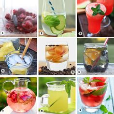 Fruit Infused Water Recipe Collection // Likes to Smile