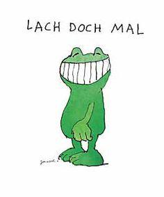Janosch - Lach doch mal - jetzt bestellen auf kunst-fuer-alle.de