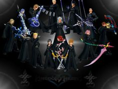 Kingdom Hearts Organization 13 | latest posts real time org xiii rp girls dorm…