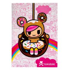 tokidoki | Tokidoki Donutella A5 Notebook, School Supplies, Tokidoki Notepad UK