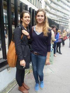 Looks de rentrée des étudiants de Panthéon-Assas - Mathilde et Madeleine, étudiantes en droit