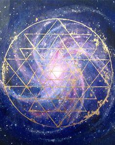 Sacred Geometry and Sri Yantra Sri Yantra, Reiki Frases, Sacred Geometry Symbols, Yoga Studio Design, Psy Art, Ancient Symbols, Flower Of Life, Mandala Art, Flower Mandala