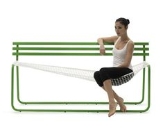 Wanna Go For A Swing? The Siesta Bench