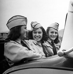 Mexican schoolgirls in military uniform. Photograph by Peter Stackpole. Ensenada, Baja California, Mexico, 1942.