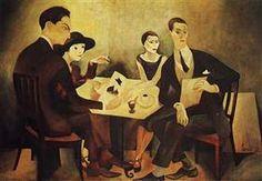 Jose de Almada-Negreiros/Self-portrait in a group -